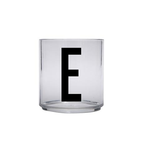 Design Letters Kids Personal Drinking Glass, E