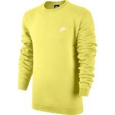 Nike Collegepaita NSW Crew Fleece - Keltainen Valkoinen a6cbb570ca