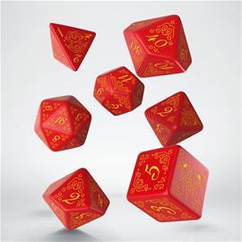 Dice set - Pathfinder Curse of the Crimson Throne (SPAT23) - Lautapeli