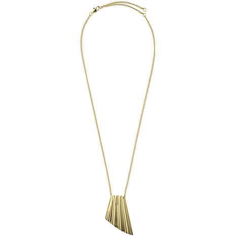 Dyrberg/Kern Chalina Necklace, Shiny Gold