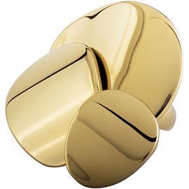 Dyrberg/Kern Rosana Ring IIII, Shiny Gold