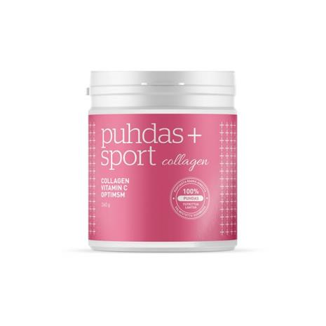 Puhdas+ Sport Collagen & C-vitamiini & OptiMSM 270 g