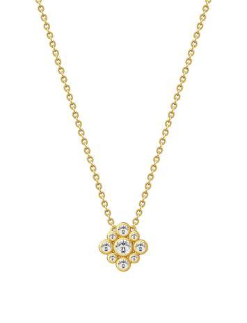 Julie Sandlau Peony Necklace - Gold Kulta
