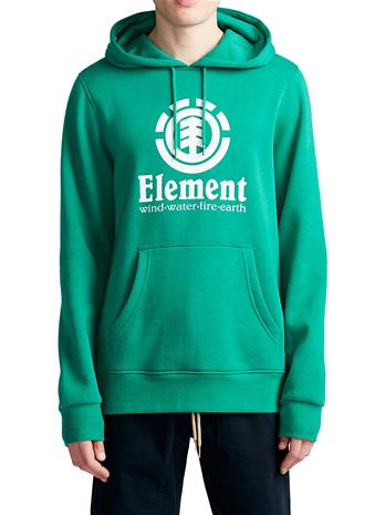 Element Vertical Hoodie dynasty green Miehet