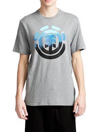 Element Glimpse Icon T-Shirt grey heather Miehet