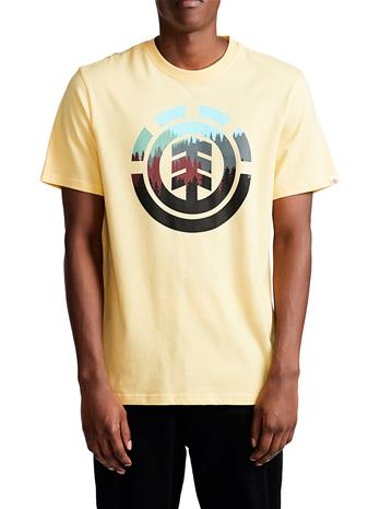 Element Glimpse Icon T-Shirt popcorn Miehet