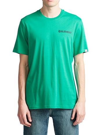 Element Blazin Chest T-Shirt dynasty green Miehet