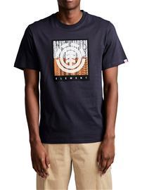 Element Density T-Shirt eclipse navy Miehet
