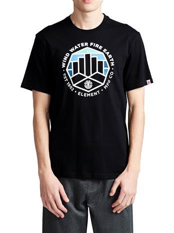 Element Passage T-Shirt flint black Miehet