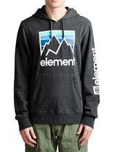 Element Joint Hoodie charcoal heathe Miehet