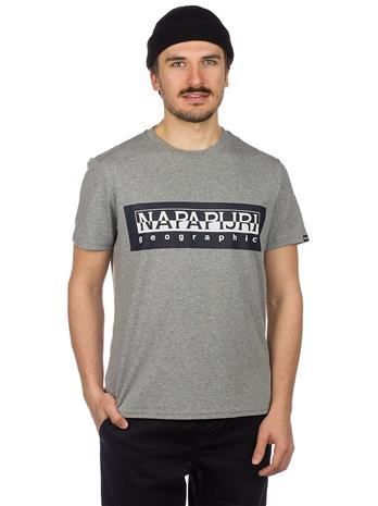 Napapijri Sele T-Shirt med grey mel Miehet