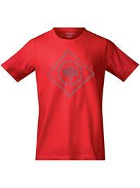 Bergans Bergans 1908 T-Shirt firered / solidgrey Miehet