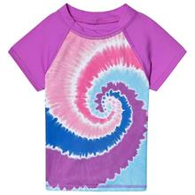 Purple Tie Dye Rashguard10-12 years
