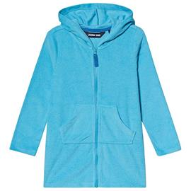 Tuqruoise Terry Hooded Beach Cover Up12-13 years