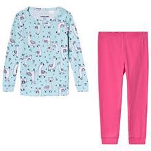 Aqua Llama Print Pyjamas12-13 years