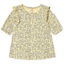 Bertha Ls Dress Popcorn74 cm (6-9 kk)