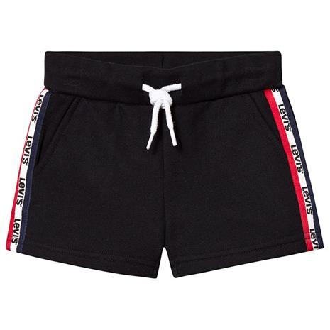 Black Side Logo Sweat Shorts4 years