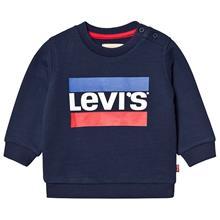 Navy Hero Logo Sweatshirt9 months