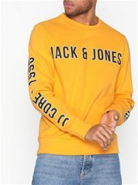 Jack & Jones Jcoviktor Sweat Crew Nec K Puserot Oranssi