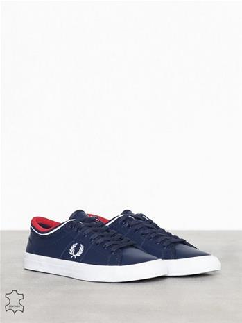 Fred Perry Kendrick Tipped Cuff LTH Tennarit & kangaskengät Carbon Blue