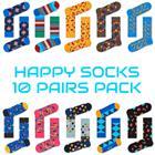Happy Socks- 10 Pairs Pack