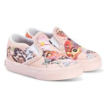 Pink Butterfly Print Vans x Molo Slip On Shoes36 (UK 3.5, US 4.5)