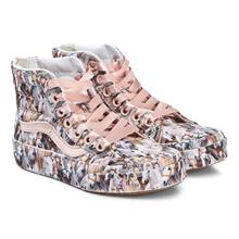 Pink Kids Show Horse Print SK8-Hi Top Trainers35 (UK 3, US 4)