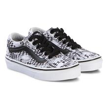 Black Kids Skate Check Old Skool Trainers35 (UK 3, US 4)