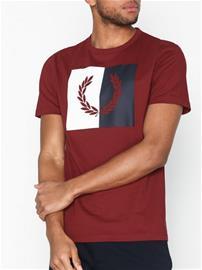Fred Perry Laurel Wreath T-Shirt T-paidat ja topit Punainen