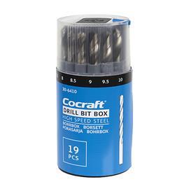 Cocraft 19-osainen poranteräsarja