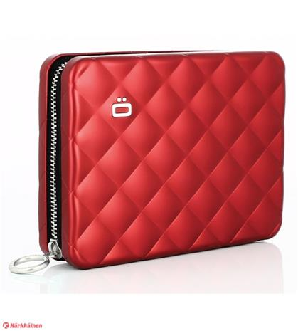 Ögon Designs Quilted Passport Wallet, alumiinilompakko