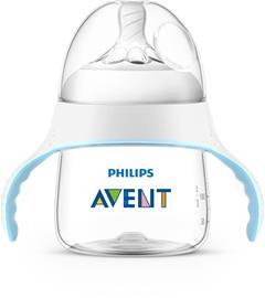 Philips Avent Natural Harjoitusmuki 150ml, Sininen/Valkoinen
