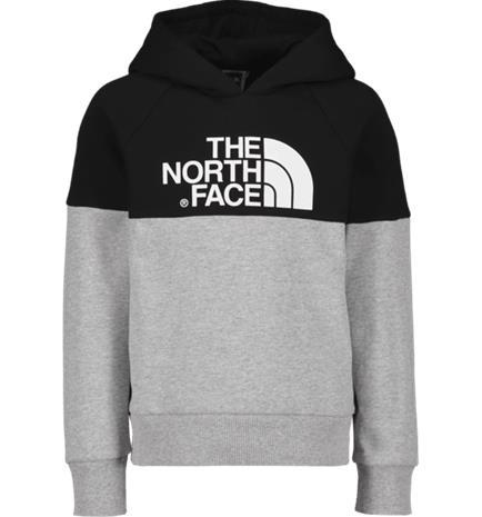 The North Face J Y DREW PEAK HOOD LIGHT GREY HEATHER