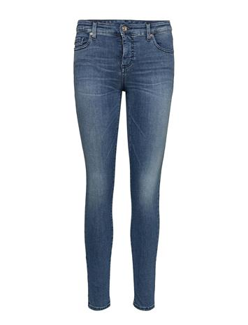 Armani Exchange Woman Denim 5 Pockets Pant Sininen