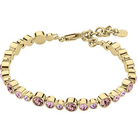 Dyrberg/Kern Esina Bracelet, Shiny Gold/Rose