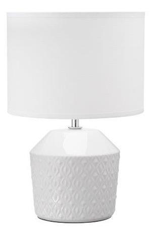 Lampa Nanna keramik Vit Bordslampa