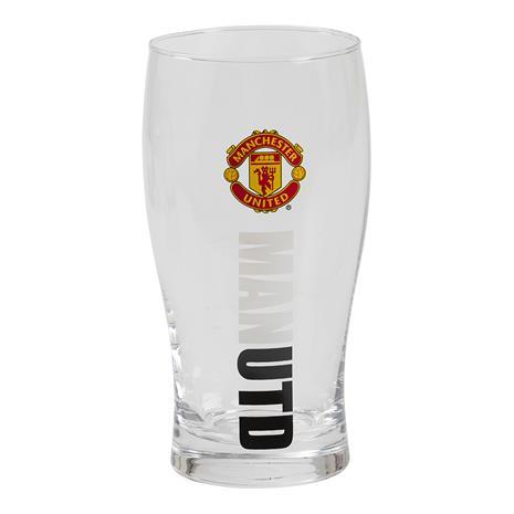 Ölglas Fotboll Manchester United
