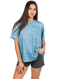 RVCA Chained T-Shirt washed stripe Naiset