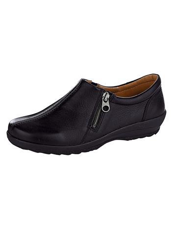 """Naturläufer """"Erittäin leveälestiset kengät musta"""""""