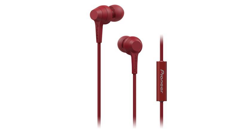 Pioneer SE-C1T, nappikuulokkeet mikrofonilla