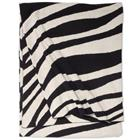 Classic Collection Zebra, puuvillahuopa 130 x 170 cm