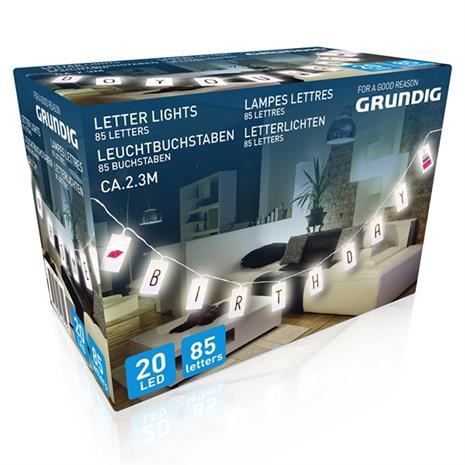 Grundig LED Kirjainnauha, SecurityLighting