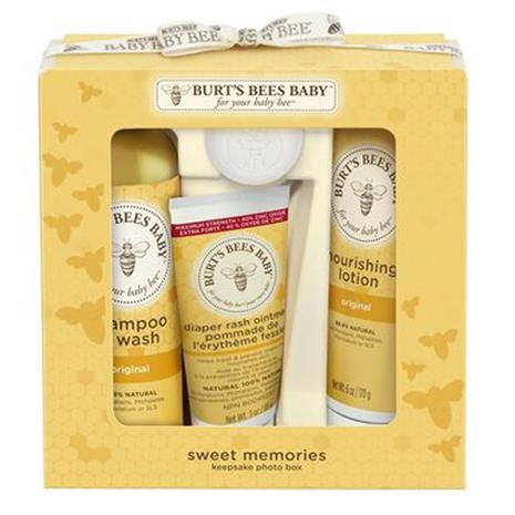 Burts Bees Baby Bee Sweet Memories Keep Sake Photo Box