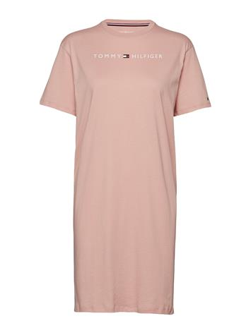 Tommy Hilfiger Rn Dress Half Sleeve Vaaleanpunainen