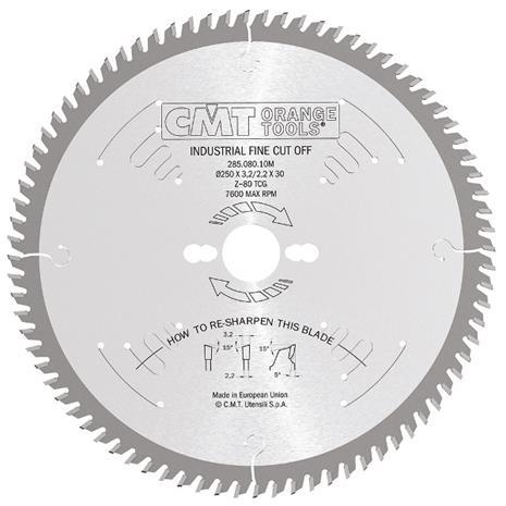 Katkaisuterä puulle CMT 285.120.16M; d=400 mm