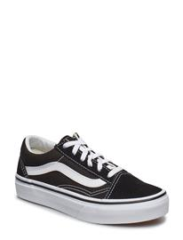 VANS Uy Old Skool Blk/Blk, 13.5, Medium Musta