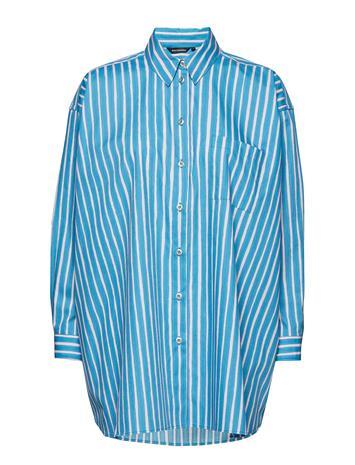 Marimekko Napitus Piccolo Shirt Sininen
