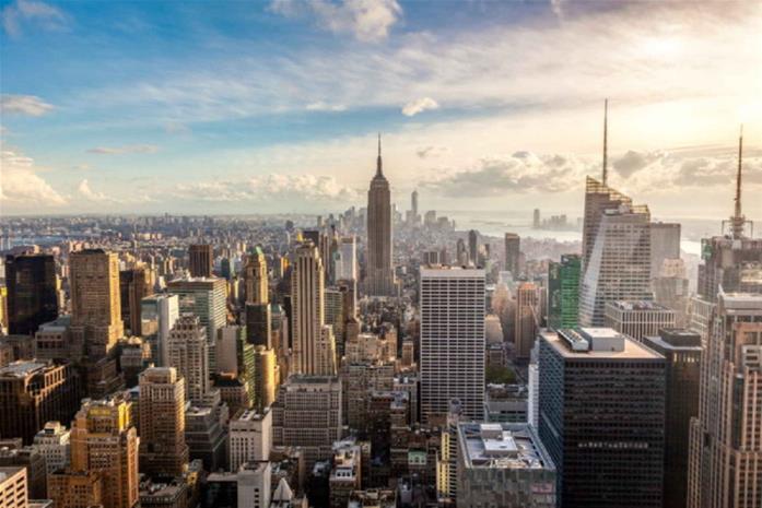 Fototapet New York City Skyline