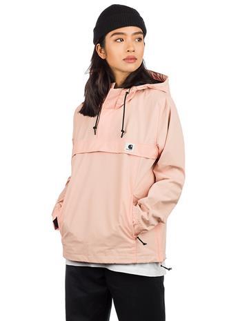 Carhartt WIP Nimbus Pullover Jacket peach Naiset