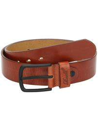 REELL All Black Buckle Belt vintage hazel